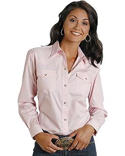 3b86ffbf Cinch Women's Solid Button Down Western Shirt - Msw9164032 at Amazon ...