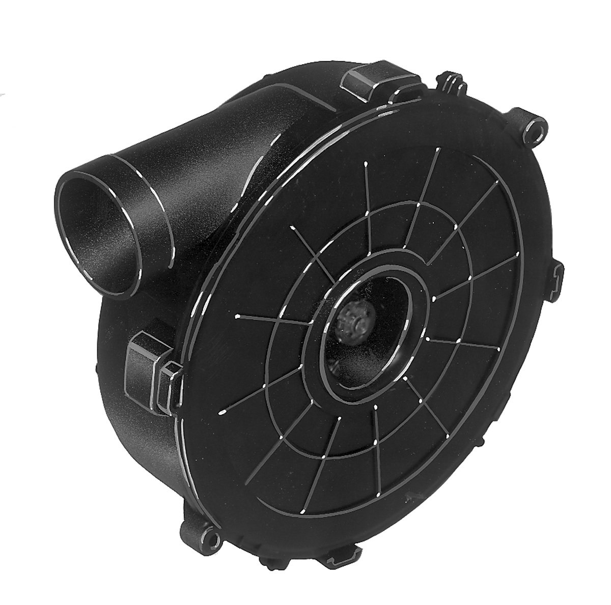Fasco A163 3.3'' Frame Shaded Pole OEM Replacement Specific Purpose Blower with Ball Bearing, 1/20HP, 3,400 rpm, 115V, 60 Hz, 1.8 amps