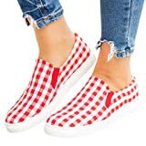 Women's Classic Round Toe Stretch Slip-On Flats