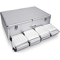 Embellir 1000 Disc Aluminium Storage Box - Silver