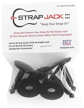 Correa para guitarra jack SJ-3 sistema de bloqueo para acústica guitarra eléctrica, 3 piezas: Amazon.es: Instrumentos musicales