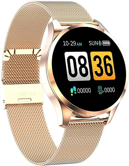 2020 nuevo reloj inteligente para hombre, mujer, modo de ejercicio táctil completo, presión arterial, Bluetooth, reloj inteligente, recordatorio de
