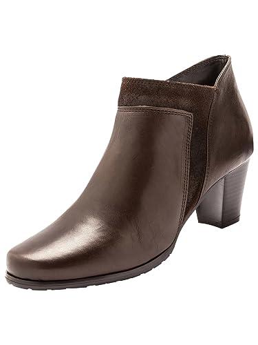 Balsamik - Boots bi-matière Marron qJpomf0