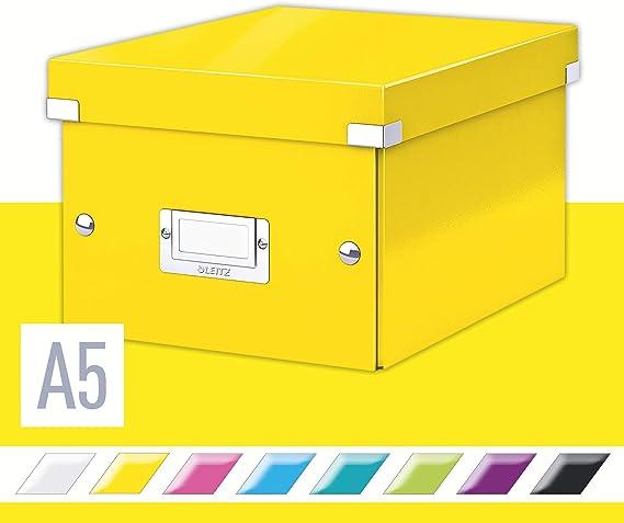 Leitz Scatola A5 Formato Small Click and Store Nero 60430095