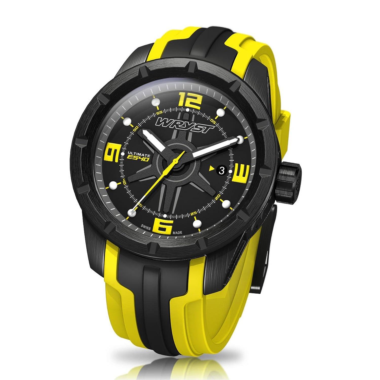 Schwarz und Gelb Schweizer Sport Armbanduhr wryst Ultimate-fÜr extreme sports