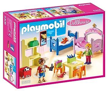 Playmobil - 5306 - Chambre d\'enfants avec lits superposés: Amazon.fr ...