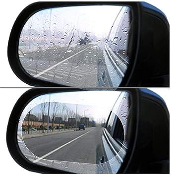 2pcs Auto Anti Wassernebel Film Anti Fog Waterproof Rückspiegel Schutzfolien Möbel & Wohnen