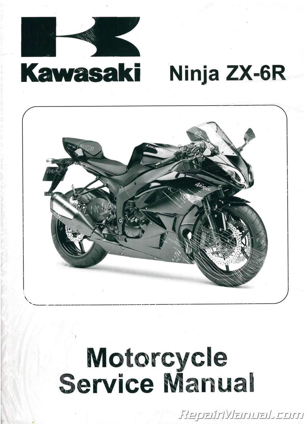 99924-1417-03 2009-2011 Kawasaki ZX600R Ninja ZX-6R Service ...