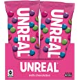 UNREAL Milk Chocolate Gems | Certified Fair Trade, Non-GMO | Made with Gluten Free Ingredients and Colors from Nature | No Su