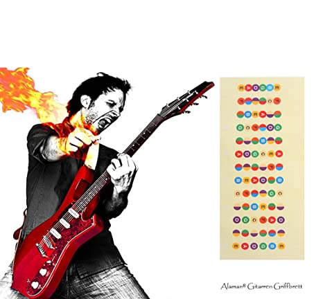 Guitarra afilar imágenes perfecto para principiantes, alaman 100% vinilo más colores Diapasón de la