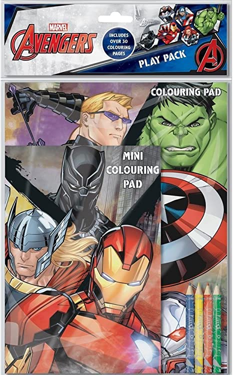 The Home Fusion Company Marvel Classic Avengers - Pack de juego ...