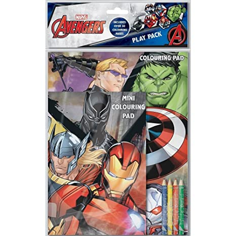 Home Fusion The Company Marvel Classic Avengers Pack De