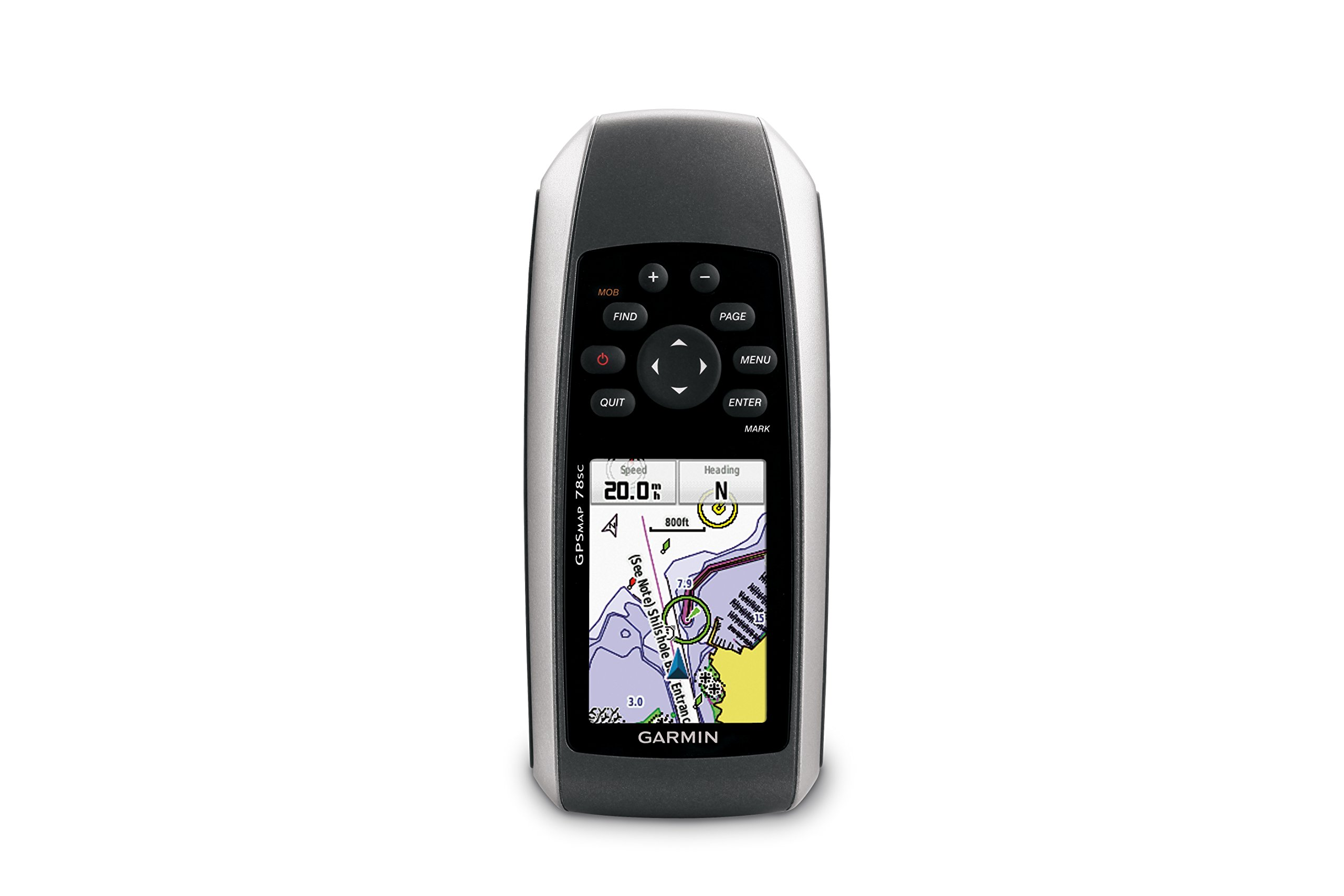 Garmin GPSMAP 78sc Waterproof Marine GPS and Chartplotter by Garmin