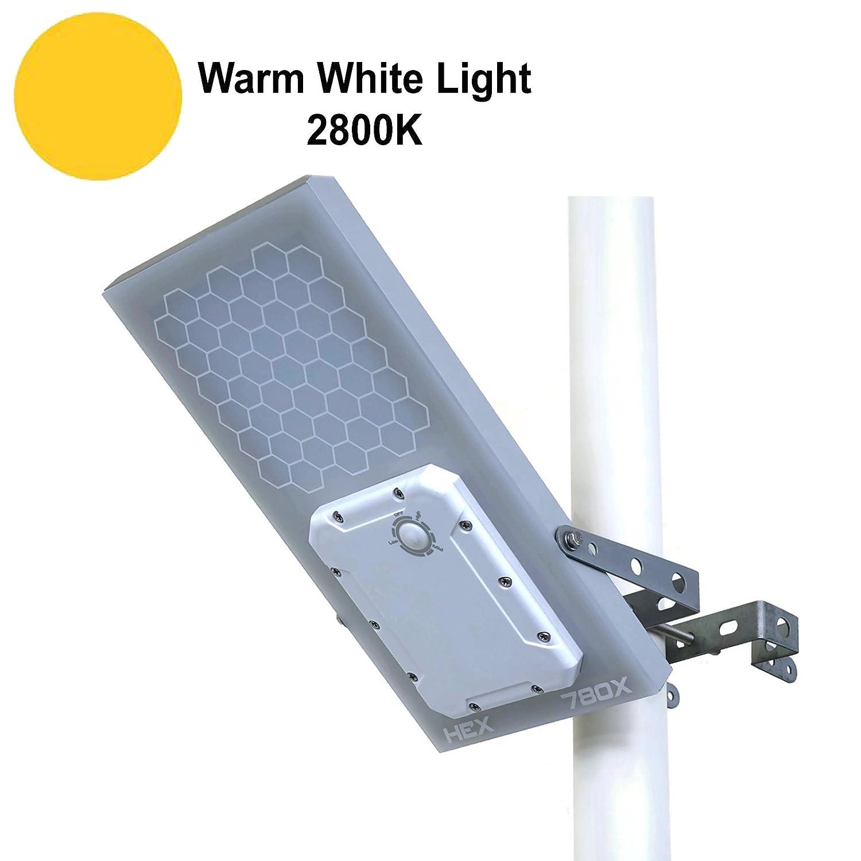 HEX 780X Solar-Straßenleuchte (warme weiße LED), 3-Stufen ...