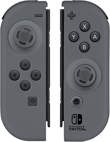 Amazon.com: Nintendo Switch Comfort Grip Joy Con Grey Gel ...
