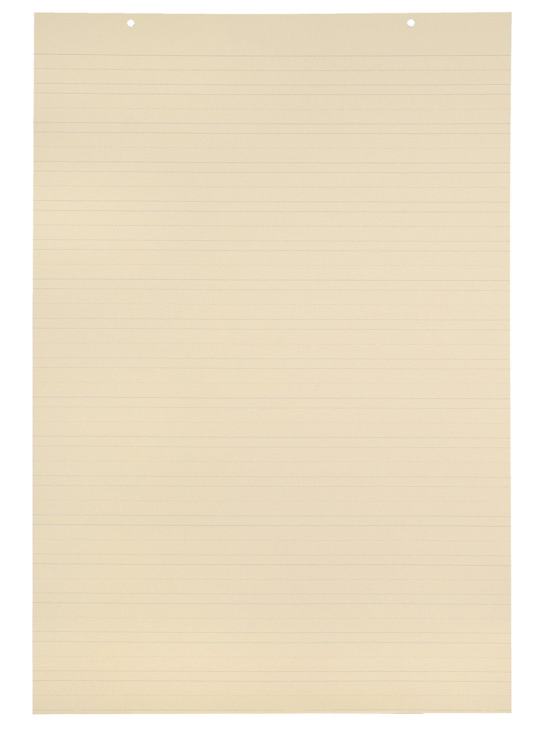 School Smart Jumbo Manila Tag Ruled Chart Paper, 36 x 24 Inches, Pack of 100 by School Smart