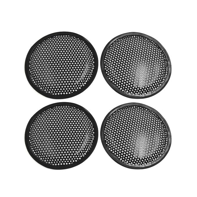 sourcingmap/® Metall schwarz 10 Zoll Auto Audio Lautsprecher Subwoofer Grille Abdeckung DE de