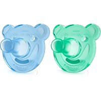 Soothie 0-3 Meses Dupla, Philips Avent, Azul/Verde