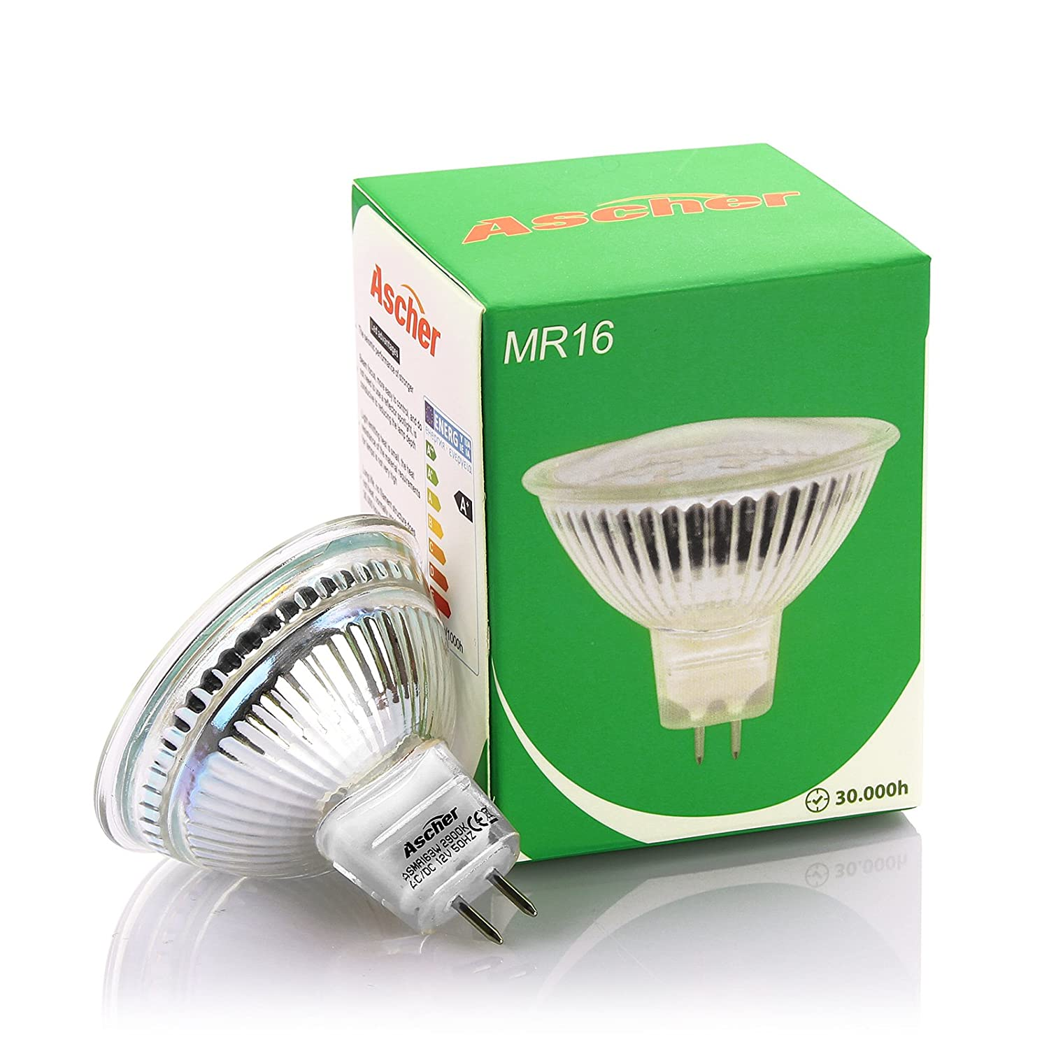 Ascher 10er pack mr16 gu53 3w led lampe vgl 30w halogen ascher 10er pack mr16 gu53 3w led lampe vgl 30w halogen 270lm warmwei 12v ac dc 120 abstrahwinkelled reflektorlampe mit gu53 sockel parisarafo Image collections