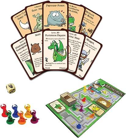 Steve Jackson Games 1483 Munchkin - Juego de Mesa (edición Inglesa): Amazon.es: Juguetes y juegos