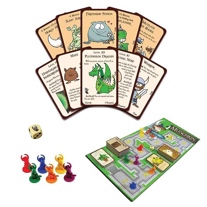 Amazon.com: Juego de mesa Munchkin Deluxe: Toys & Games