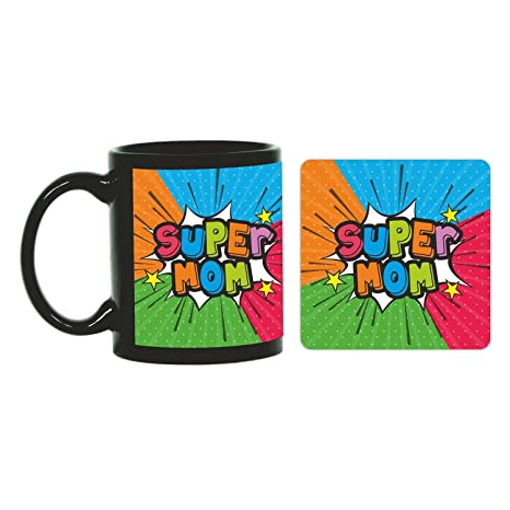 Buy Funky Store Birthday Gifts For Mother Super Mom Theam Ceramic