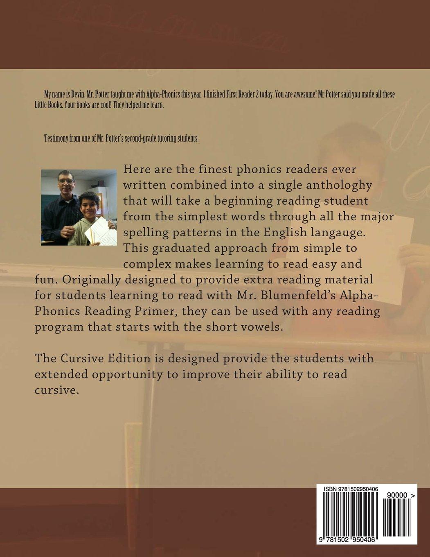 Amazon.com: First Readers Anthology: Cursive Edition: Samuel L ...