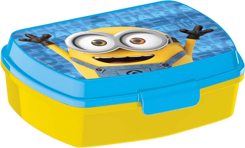 Elemed 89874 Lustige Sandwich-Box mit Minions, mehrfarbig Elemed SRL Italy 789674