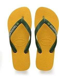 Havaianas Unisex-Erwachsene Brasil Logo Zehentrenner Gelb (Banana Yellow) 39/40 EU (37/38 Brazilian)