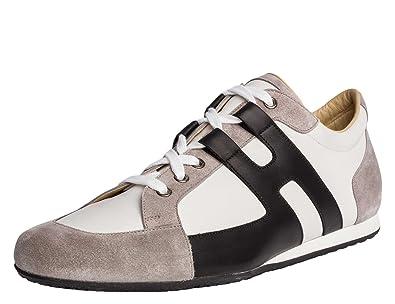 Hermes Paris Herren Sneaker Veau Velours Echtleder Amazon De