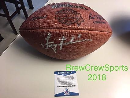 best website d779d 7addc Troy Aikman Autographed Signed Super Bowl XXvIII Football ...