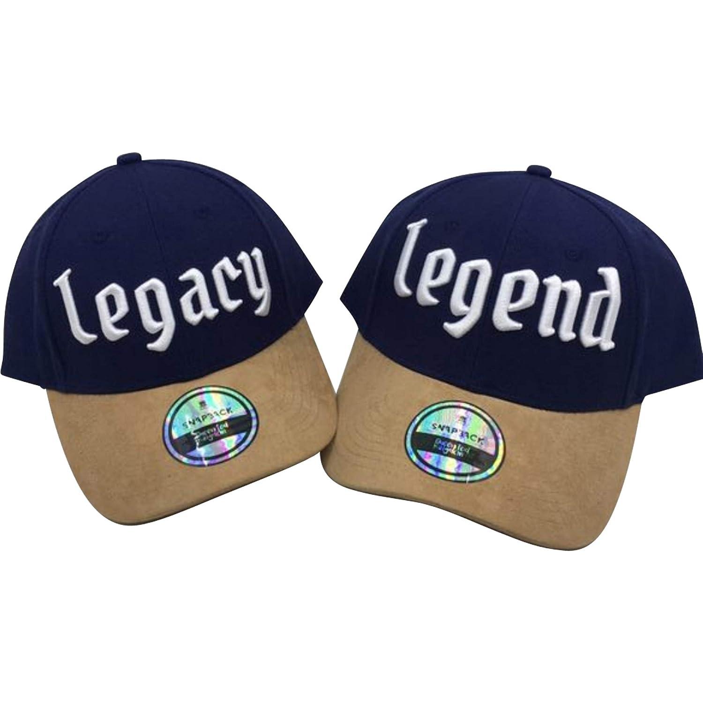bcf89608ce342 Father/Son Matching Baseball Cap Legend/Legacy | Big Guy/Little Guy (Big  Guy/Little Guy) at Amazon Men's Clothing store:
