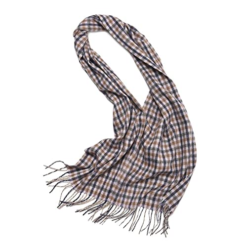 Bufanda Chal Moda Hombre YR0182 Cálido y Elegante 32cm*170cm,GJDE , i , 32cm*170cm