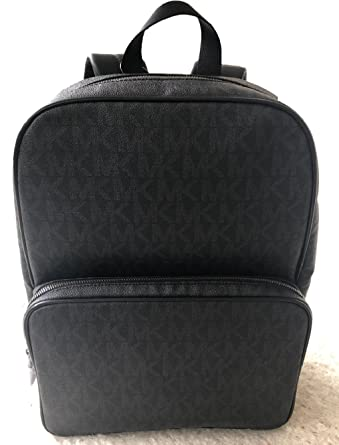 13b3b8402810 Image Unavailable. Image not available for. Color  Michael Kors Mens Jet  Set Backpack Black ...