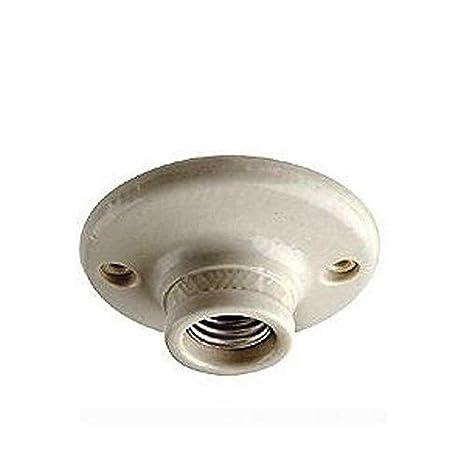 Amazon.com: Leviton 9874 - Soporte para lámpara de techo ...