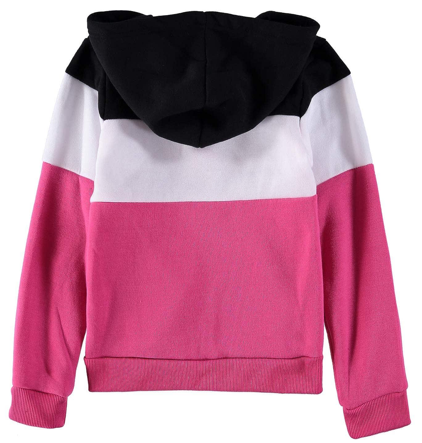 Star Ride Girls 2-Piece Zip Front Hooded Sweatshirt Jogger Set