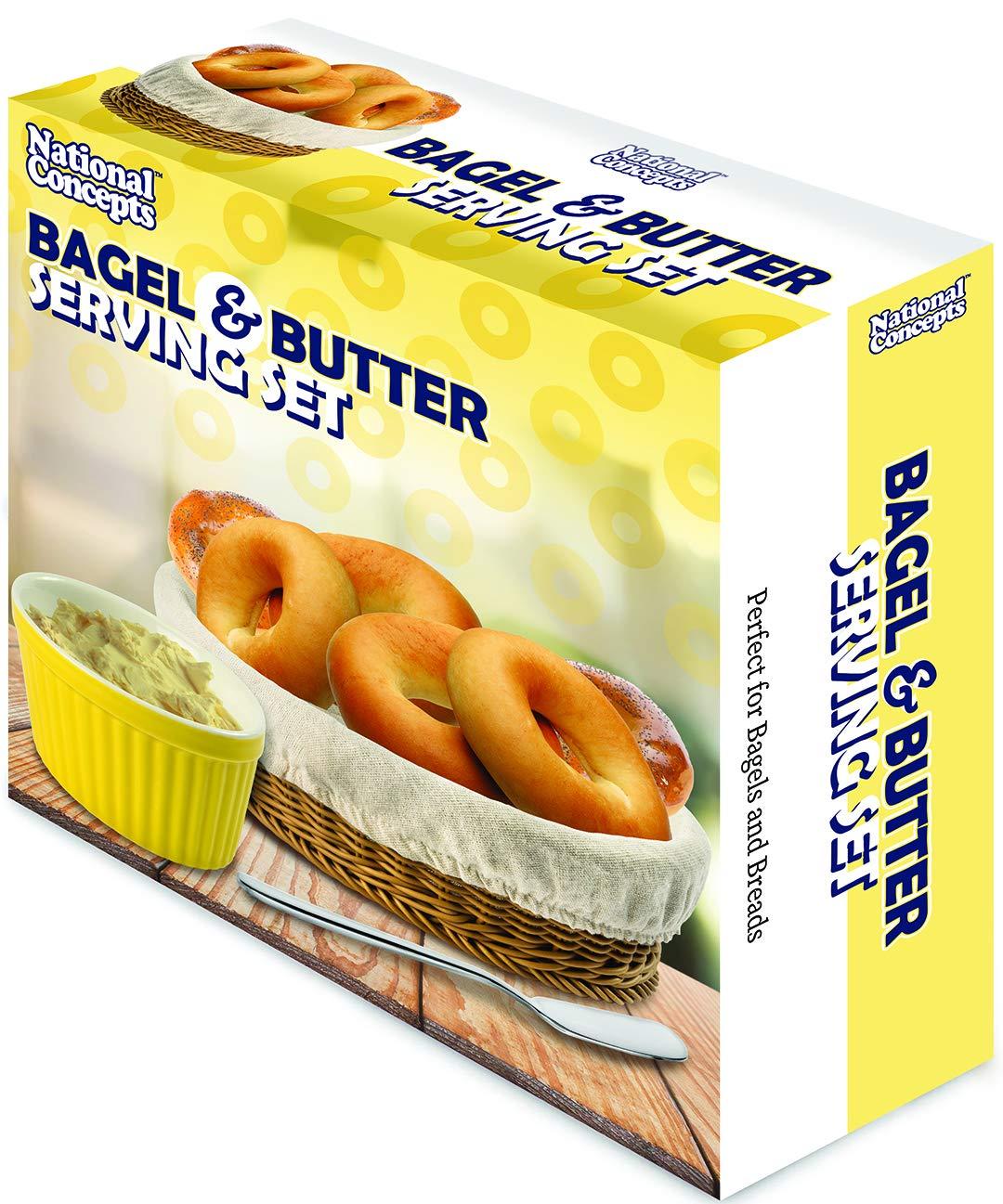 Amazon.com: Conjunto de servicio de bolsas y mantequilla por ...