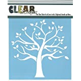 """CLEARSNAP Clear Scraps CSSM6-FMTRE Family Tree Stencils, 6 by 6"""""""