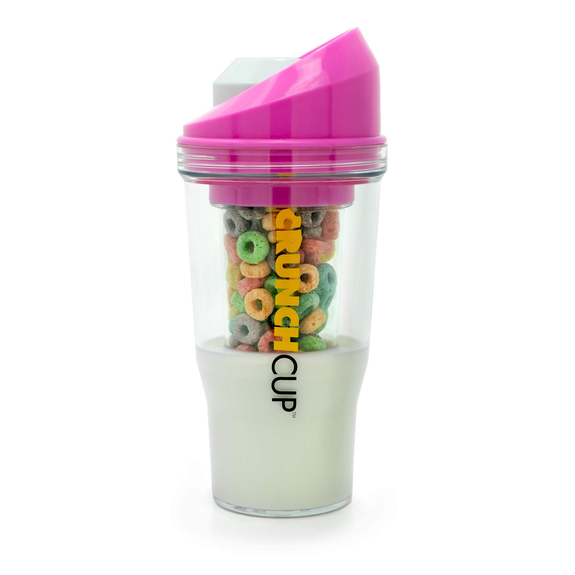 The CrunchCup - A Portable Cereal Cup - No