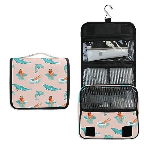 Ocean Dolphins - Neceser para Mujer o niña, multifunción ...