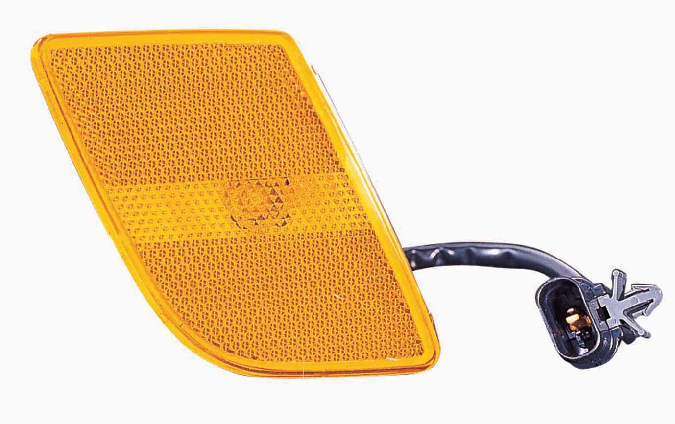 Depo 323-1404R-AS Kia Rio Passenger Side Front Marker Lamp Assembly with Bulb and Socket