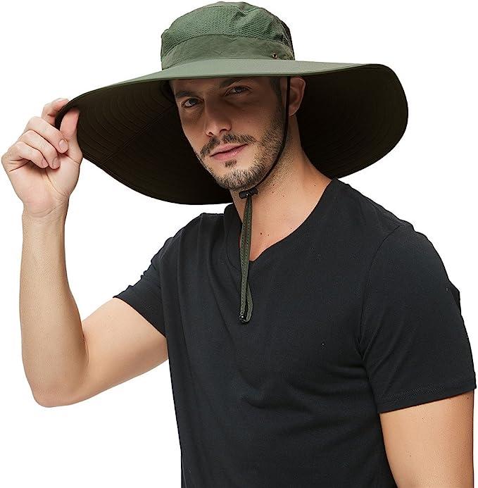 trekking outdoor bush hat hiking bucket hat. summer hat fishing hat Supreme glory Mens sun hat UV protection hiking hat