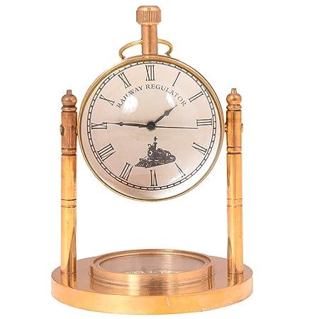 diollo - Reloj de Mesa analógico de Cuarzo, diseño Retro, con ...