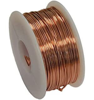 Amazon copper wire dead soft 1 lb spool 20 ga 315 ft solid bare copper round wire 5 oz spool dead soft 12 to 30 ga 28 greentooth Image collections