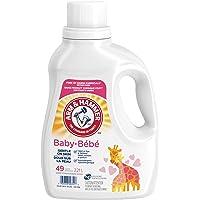 Arm & Hammer Laundry Baby, Hypoallergenic, Gentle on Skin, Liquid Laundry Detergent, 49 Loads 2.21 Liter