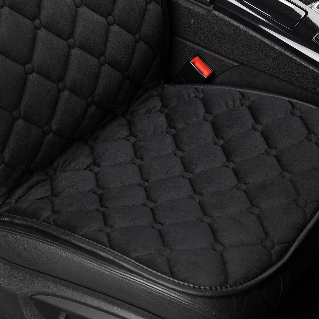 RELANSON Velour 12V Heated Seat Cushion for Full Back and Seat