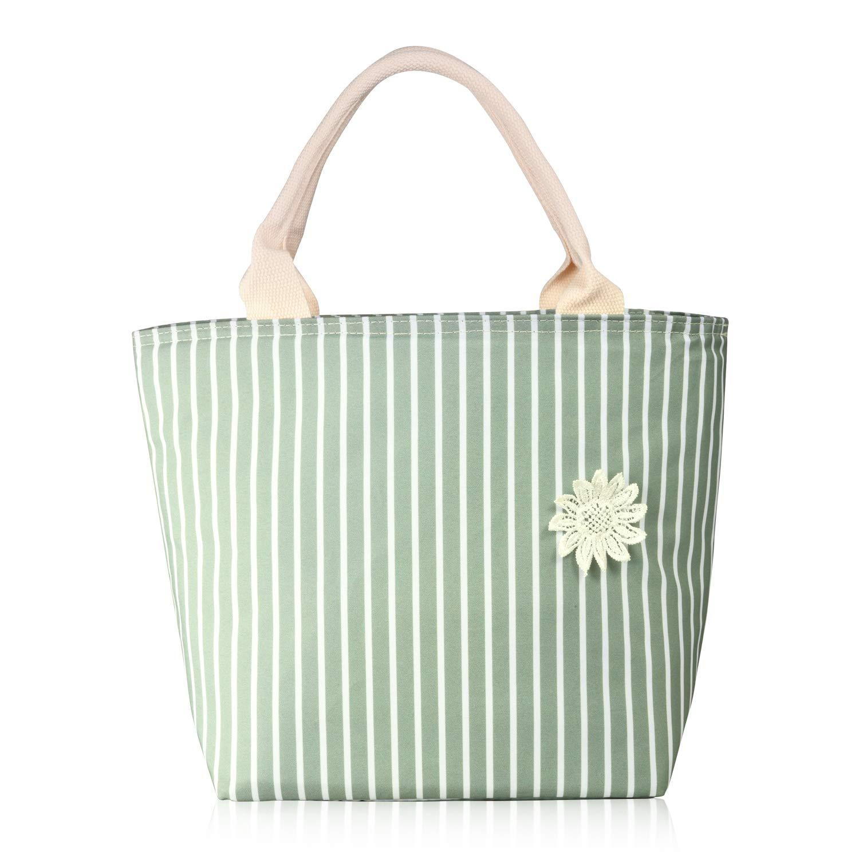 Aluminum Foil-Matcha Green/White Stripe