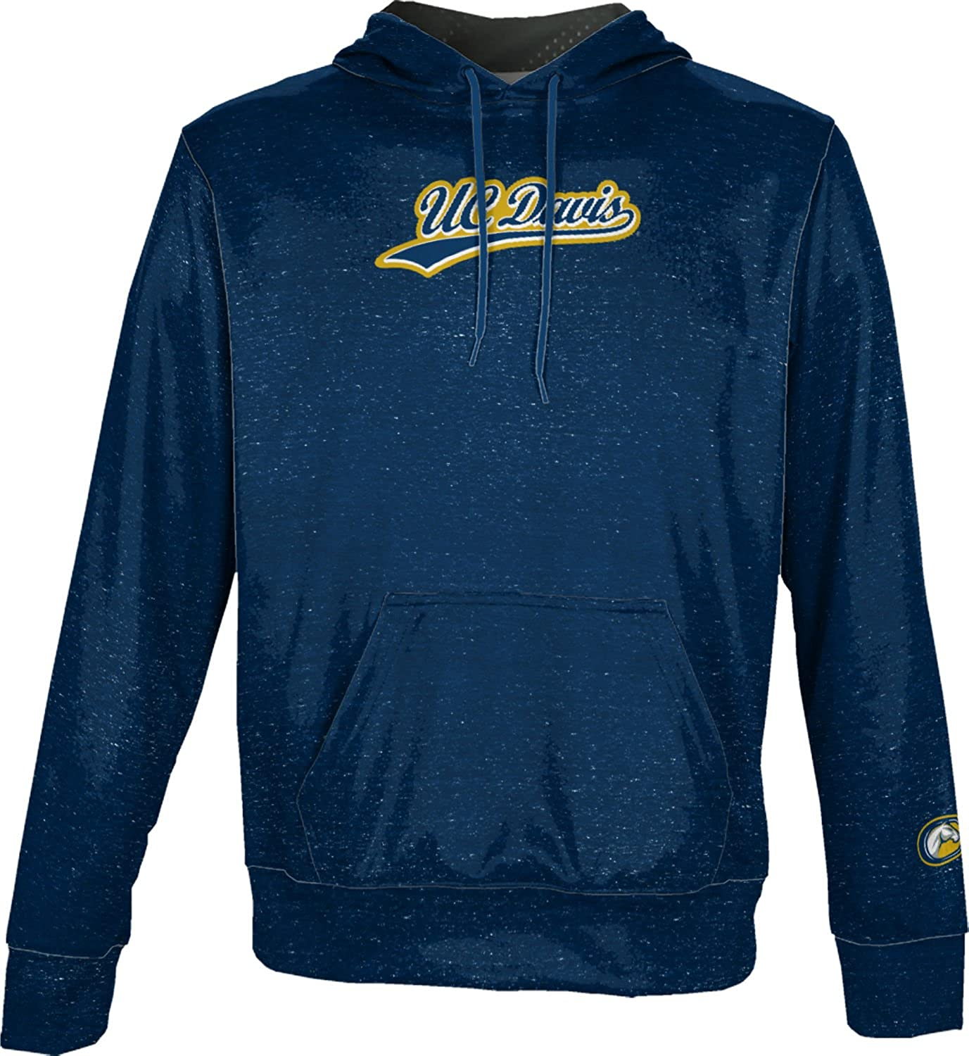ProSphere University of California Davis Boys Pullover Hoodie Heathered