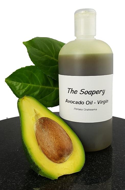 500 ml de aceite de aguacate – Virgen – grado cosmético para masaje, aromaterapia,