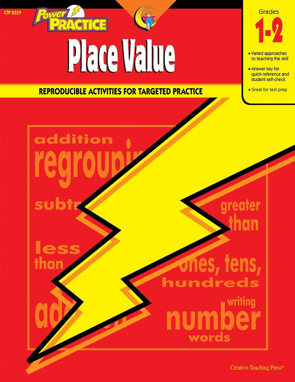 Download Power Practice Place Value, Gr. 1-2 (Math Power Practice) PDF